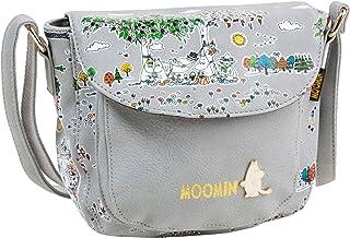 House Of Disaster Satchels Moomin Meadow Cross Body Bag Grey