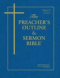 The Preacher's Outline & Sermon Bible: Ecclesiastes & Song of Solomon