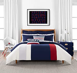 Tommy Hilfiger Clash of 85 Stripe Comforter Set, Full/Queen, Multi