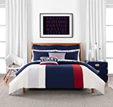 Tommy Hilfiger Clash of 85 Stripe Duvet Cover Set, King, Multi