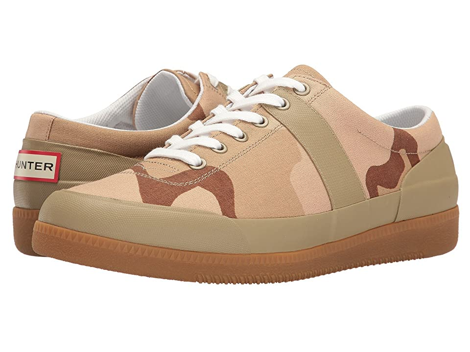 Hunter Original Sneaker Hi Canvas Desert Camo (Pale Sand/Gum) Men