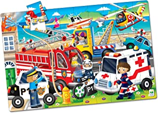 Floor Puzzles Emergency Rescue Jumbo - 321959