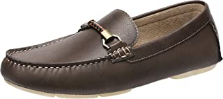 CAMEL CROWN Loafers for Men Slip On Driving Shoes Leather Penny Loafers Casual Moccasins Shoes