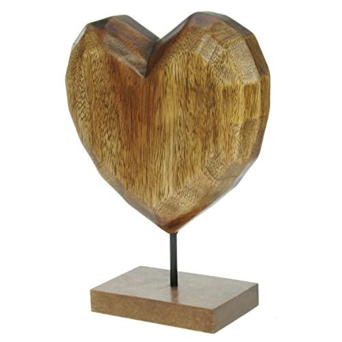 Carved wooden ornaments amazon