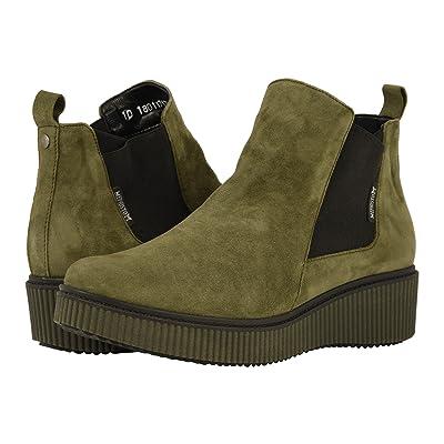 Mephisto Emie (Khaki Green Velcalf Premium) Women