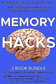 Memory Hacks: 2 Book Bundle: Memory Squared & Focus