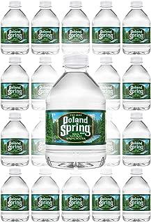 Poland Spring 100% Natural Spring Water, 8oz Bottle (Pack of 20, Total of 160 Fl Oz)