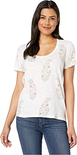 Paisley Floral Tee