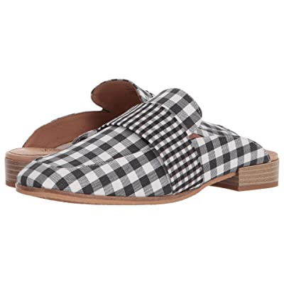 Free People Textile At Ease Loafer (Black/White) Women