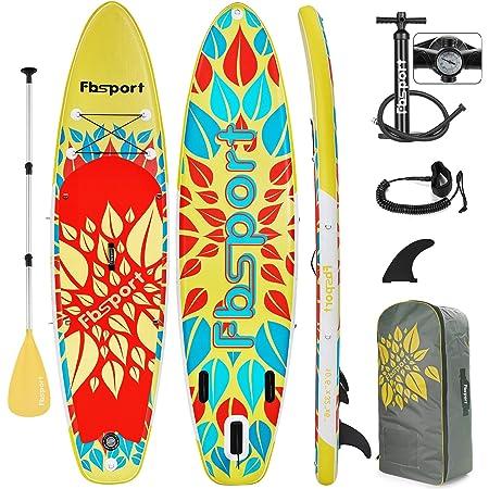 INTEY Tabla Paddle Surf Hinchable 305×76×15cm, Sup Paddle ...