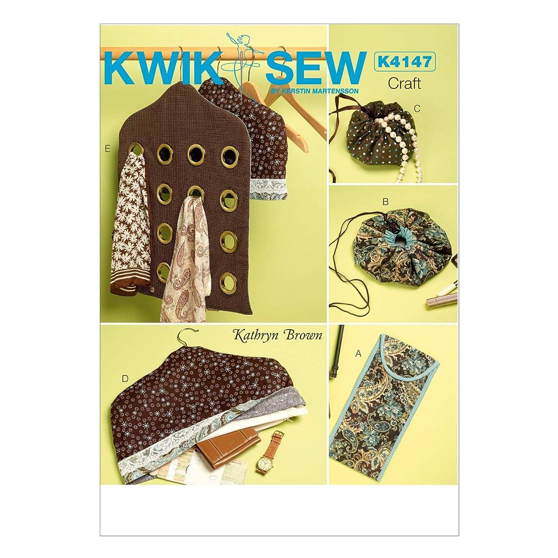 KWIK-SEW PATTERNS K4147 Travel Accessories, One Size