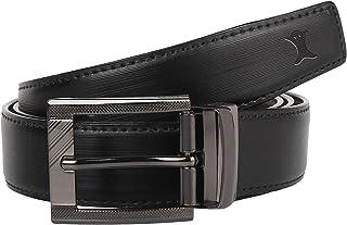 Creature Reversible PU-Leather Formal Black/Brown Belt For Men(Color-Black/Brown || Length-46 inches || BL-06)
