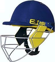 DSC Bouncer Cricket Helmet for Men & Boys (Adjustable Steel Grill | Color: Blue | Light Weight