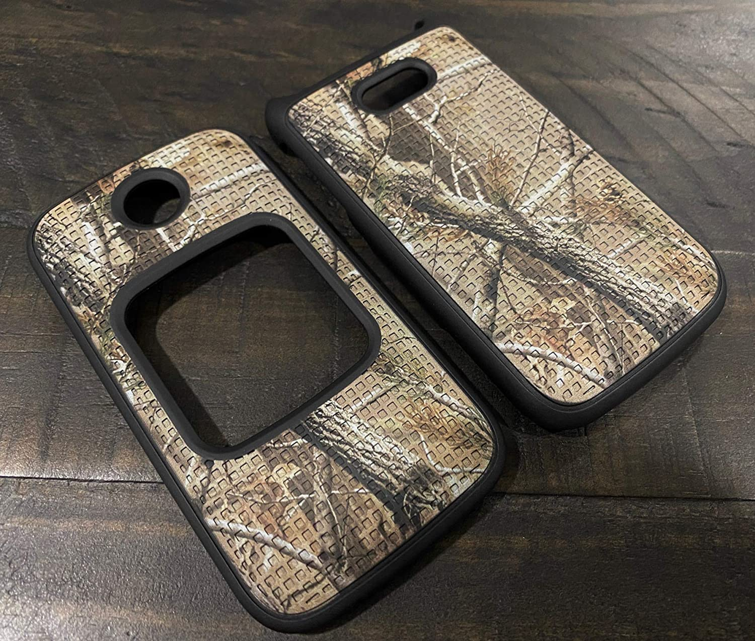 Case for Alcatel Smartflip/Go Flip 3, Nakedcellphone [Outdoor Camouflage] Tree Leaf Real Woods Camo Protective Snap-On Cover for Alcatel Go Flip 3, Alcatel Smartflip Phone (2019) 4052R/4052C/4052W