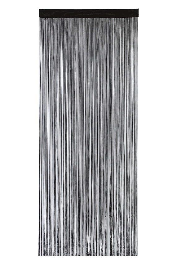 周術期夕方チョップnarumikk のれん ポリヒモスクリーン ブラウン 210cm丈 19-966