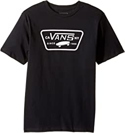 Vans Kids - Full Patch Tee (Big Kids)