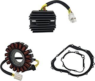 SHUmandala STATOR&REGULATOR RECTIFIER&GASKET Replace for SUZUKI GSXR 600 750 2006 2007 2008 2009 2010 2011 2012