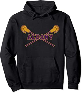 Albany Lacrosse with LAX Sticks Hoodie