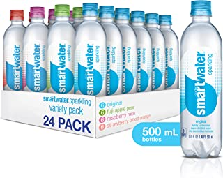 Smartwater Sparkling Variety Pack, 500mL, 24 Pack