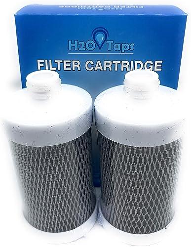 H2O Taps - Filtre á Eau sur Robinet - Cartouches Pack 2 pour 6 Mois