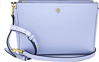 Tory Burch 74101 Blake Luna(Light Blue) Gold Hardware Women's Crossbody