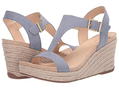 Kenneth Cole Reaction Card Wedge (Sail Boat Blue) Women