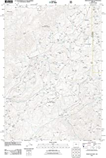 Oregon Maps - 2011 Whistler Point, OR USGS Historical Topographic Map - Cartography Wall Art - 33in x 44in