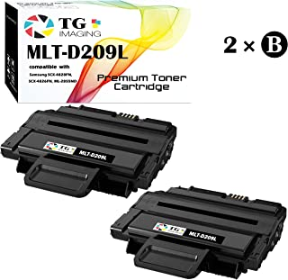 (2 x Black) Compatible D209L MLT-D209L Toner Cartridge (High Page Yield), for Samsung ML-2855 SCX-4824 SCX-4826 SCX-4828 Printer, Sold by TG imaging