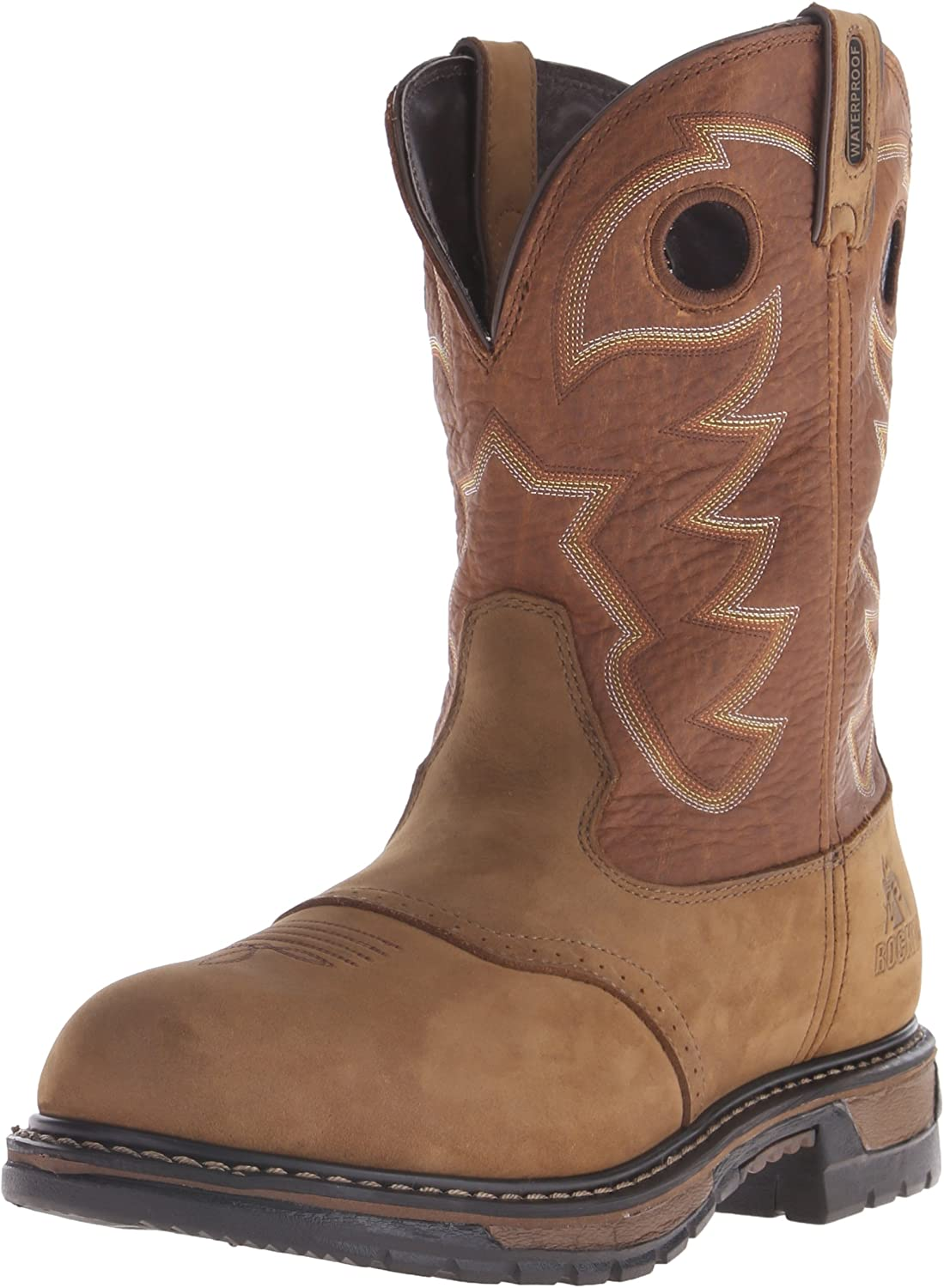 Sales of SALE items from new works Rocky Men's Original Ride Saffron Boot Work Dealing full price reduction