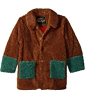 mini rodini - Faux Fur Jacket (Infant/Toddler/Little Kids/Big Kids)