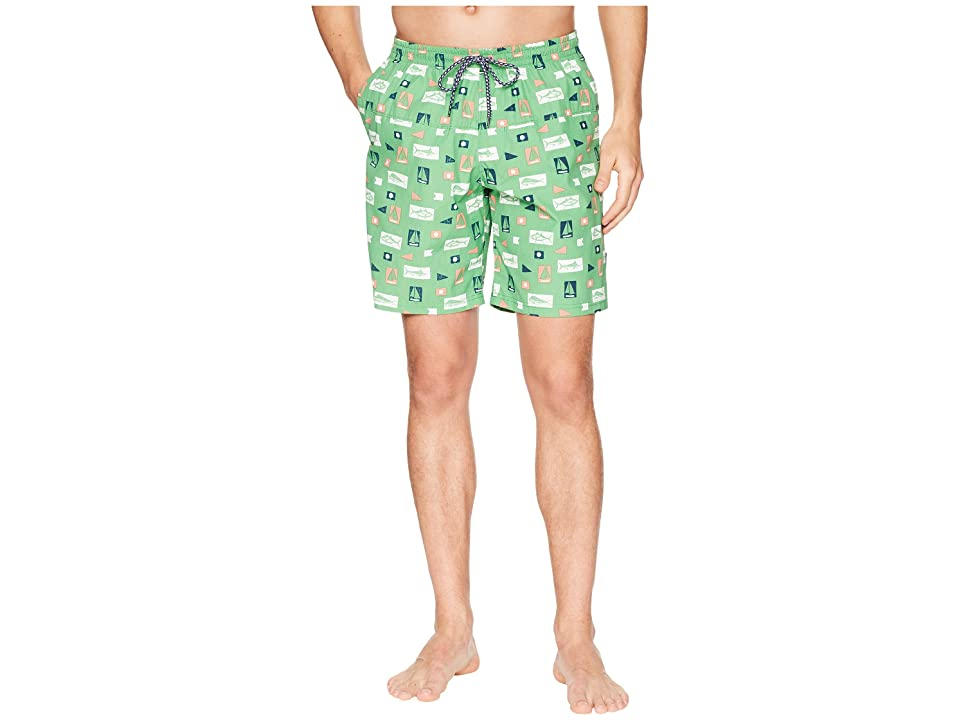 Columbia Harborside Swim Trunk (Emerald City Gamefish Flags) Men