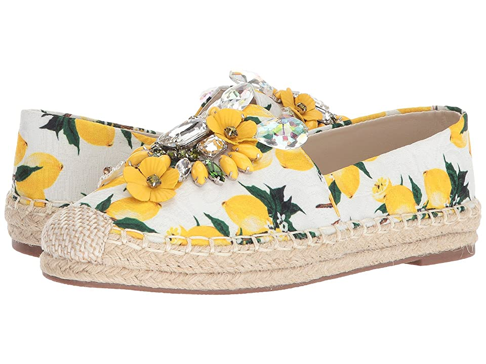 Chinese Laundry Hayden Flat (Yellow Floral Print) Women