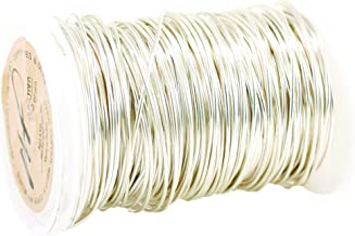 50 Grams Wire Fancy 20 Gauge Tarnish Resistant Silver Plated Copper and Copper Jewelry Making Wire (20 Gauge, Silver 50 Grams)