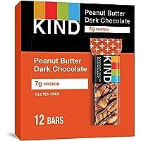 12-Pack Kind Plus Peanut Butter Dark Chocolate Protein Bars