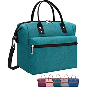 Works w Bento Box Yumbox Insulated Durable Lunch Box w Backpack Straps for School Reusable Lunch Bag Meal Tote w Handle for Kids /& Toddlers Kinsho Corgi Bentgo