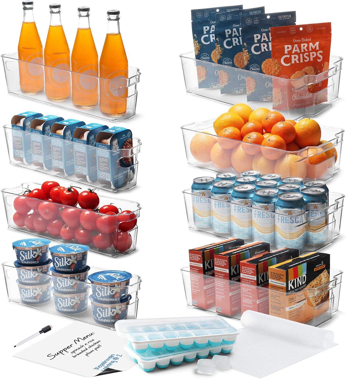 StorageBud Fridge Organizer - Bins Refrigerator PC Denver wholesale Mall 16