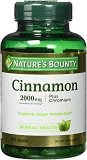 Best nature's bounty cinnamon Reviews