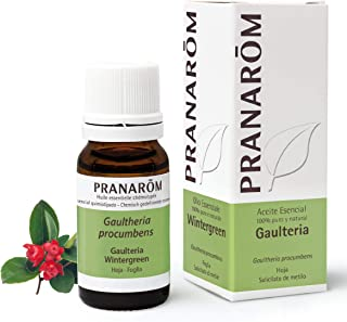 Pranarôm |Huile Essentielle Gaulthérie Couchée | Gaultheria procumbens | Feuille | HECT | 10 ml