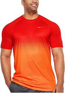 Men's Big and Tall Dri-Fit Swim Fade Mist Hydroguard T-Shirt, UPF 40+