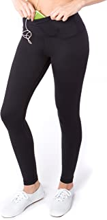 Women's High Waisted Yoga Pants with Pockets, Workout Running Leggings Tummy Control, Athletic High Waist Tights