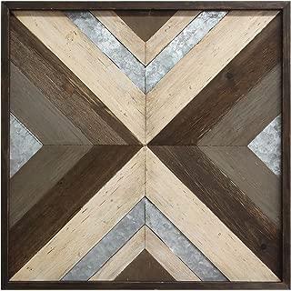 Best stratton home decor geometric metal & wood wall decor Reviews