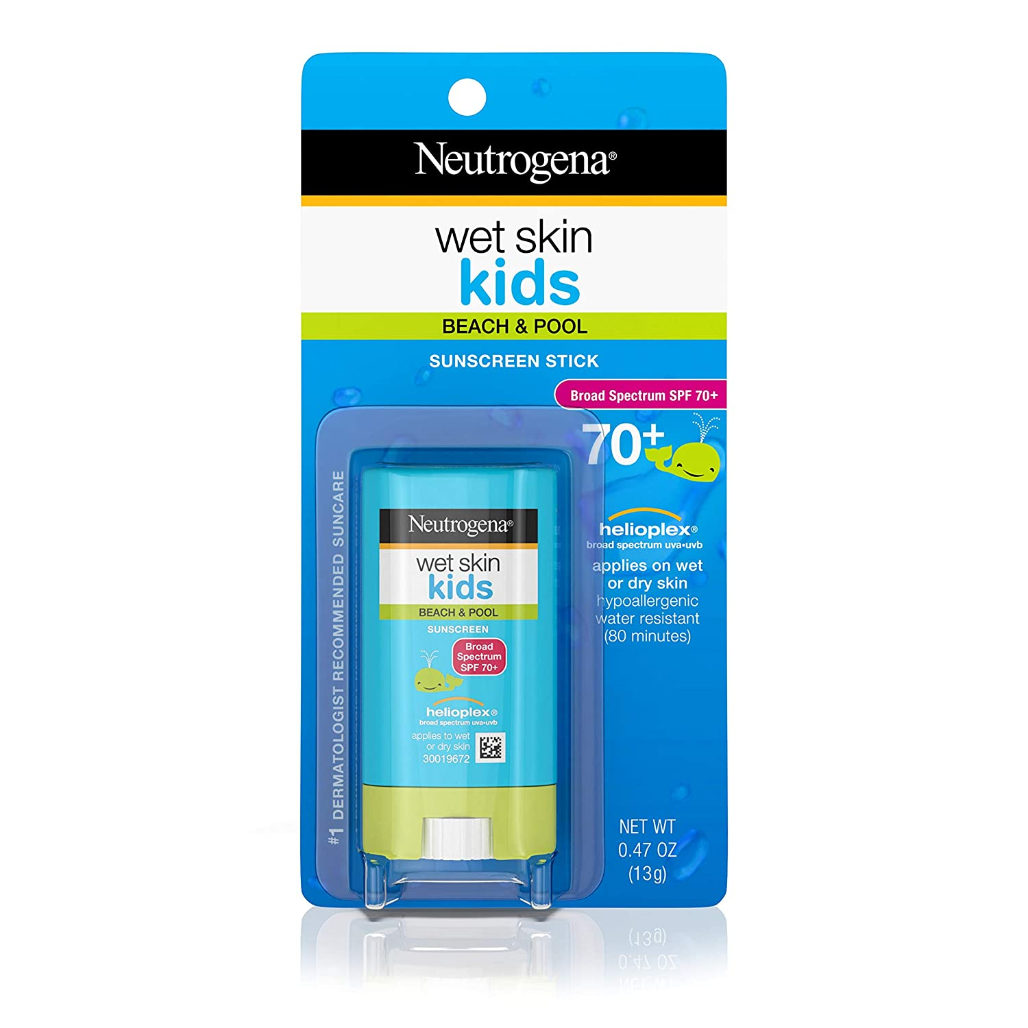 Neutrogena Wet Skin Indianapolis Mall Kids Water Sunscreen for Resistant Fresno Mall Stick Fac