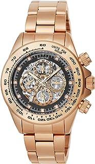 [ゾンネ]SONNE 腕時計 S159 SERIES ブラック文字盤 自動巻 S159PGB メンズ