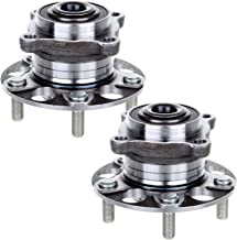 ECCPP Replacement for Pair of 2 Rear Wheel Hub Bearing Assembly 5 Lugs w/ABS for 2005-2007 Honda Accord Hybrid 512327¡Á2