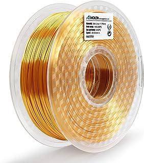 +//- 0.03 mm 3D Printer Filament 1KG Includes Sample Temp Color Change Green to Yellow Filament. AMOLEN PLA Filament 1.75mm UV//Sunlight Color Change to Hot Pink 2.2lb