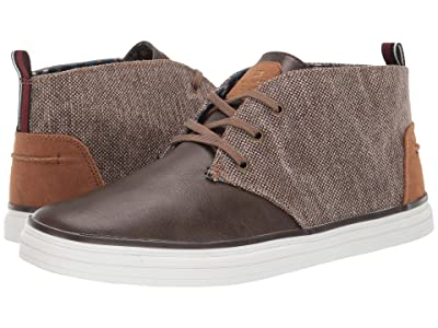 Ben Sherman Bulldog Chukka (Dark Taupe Canvas/PU) Men