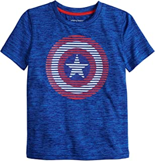Jumping Beans Boys 4-12 Captain America Captain Shield Graphic Tee