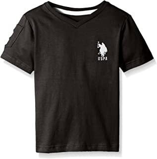 Boys' Solid V-Neck T-Shirt