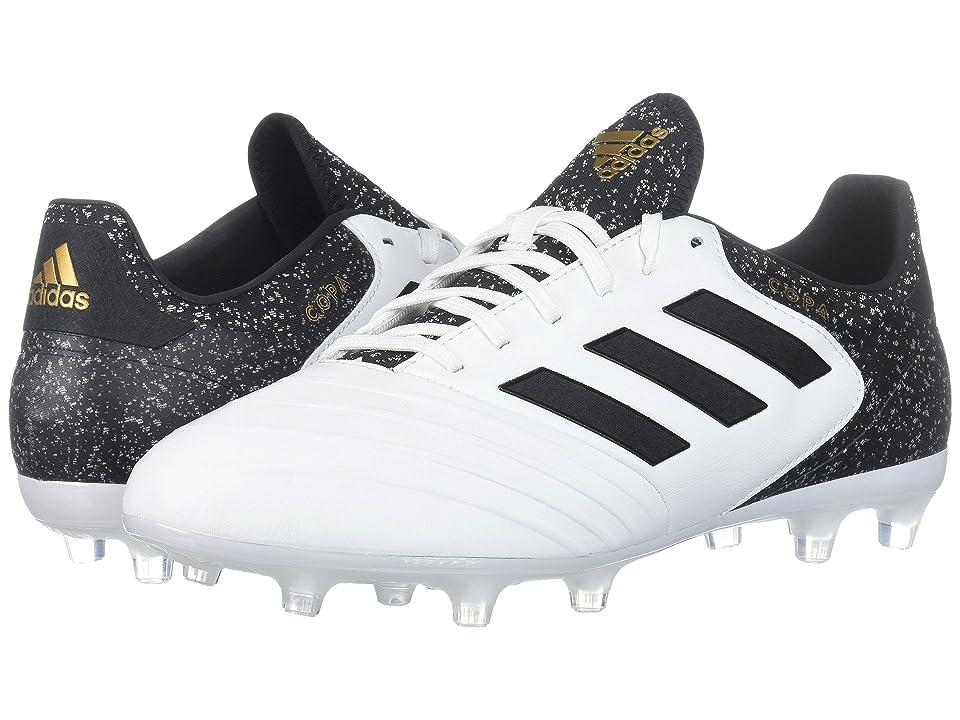adidas Copa 18.2 FG (White/Black/Tactile Gold) Men