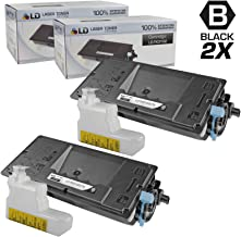 LD Compatible Toner Cartridge Replacement for Kyocera FS-2100DN TK-3102 (Black, 2-Pack)